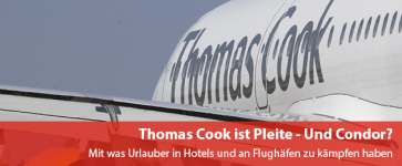 Thomas Cook ist Pleite - Und Condor?