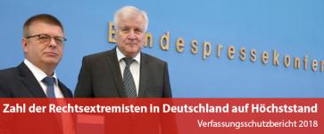 Zahl der Rechtsextremisten in Deutschland auf Höchststand