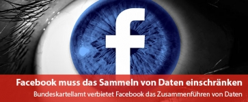 Facebook muss das Sammeln von Daten einschränken
