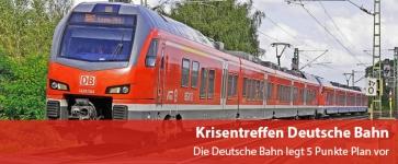 Krisentreffen Deutsche Bahn