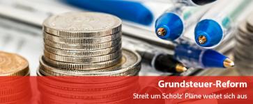Grundsteuer-Reform - Streit um Scholz' Pläne