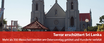 Terror erschütter Sri Lanka